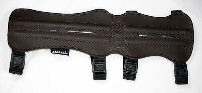 Armschutz lang aus Wildleder Bogensport Schutz Arm Wildlederarmschutz