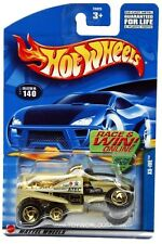 2002 Hot Wheels #140 XS-IVE gold razor wheels