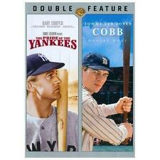 The Pride of the Yankees/Cobb (DVD, 2013, 2-Disc Set) NEW