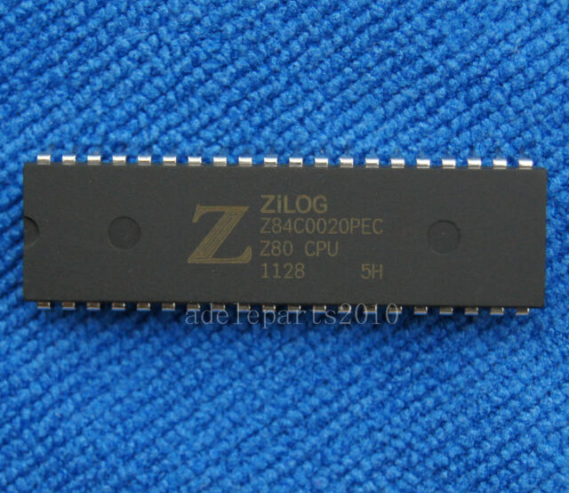 5pcs Z84C0020PEC Z84C0020  NMOS/CMOS Z80 CPU CENTRAL PROCESSING UNIT DIP-40