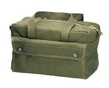Rothco G I Brass ZIPPER Mechanics Tool Bag Olive 9182
