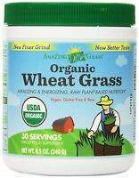Amazing Grass Organic Wheat Grass, 30 Servings, 8.5 Ounces, New, Free Shipping on sale