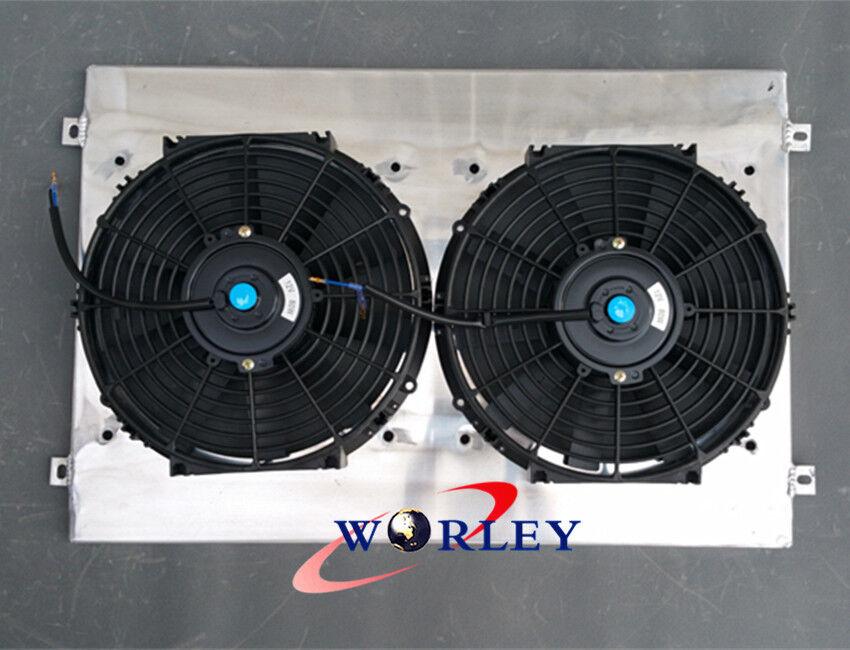 FOR LANDCRUISER 80 SERIES FJ80R FZJ80R 4.2 4.5L 6Cyl 1993-97 Aluminum radiator