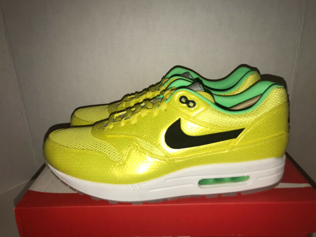 Nike Air Max 1 FB Premium QS Men's Size 11 11.5 Vibrant Yellow 665874