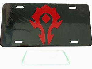 Horde-World-of-Warcraft-License-Plate-High-Gloss
