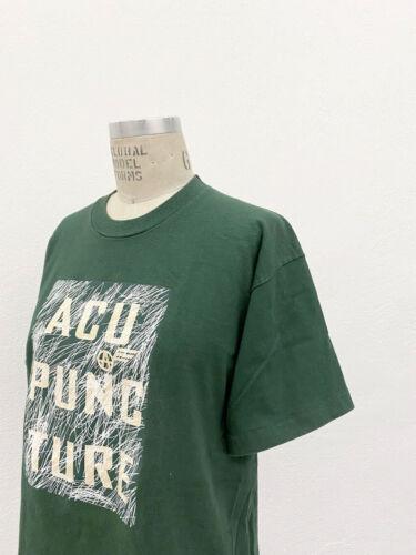 ⭕ 90s Vintage Acupuncture London shirt  rave punk