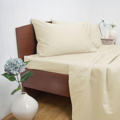 Ardor 1500TC Cotton Rich Sheet Set King /& Queen Bed