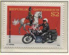Österreich  Austria 1454 125 Jahre Österreichische Gendarmerie - Polizei 1974 **