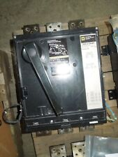Square D Phf3616001386 2000a Frame 1600a Rated 3p 600v Breaker Used Tested