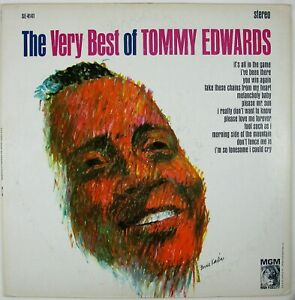 TOMMY EDWARDS The Very Best Of Tommy Edwards LP 1963 POP VOCAL NM- NM-