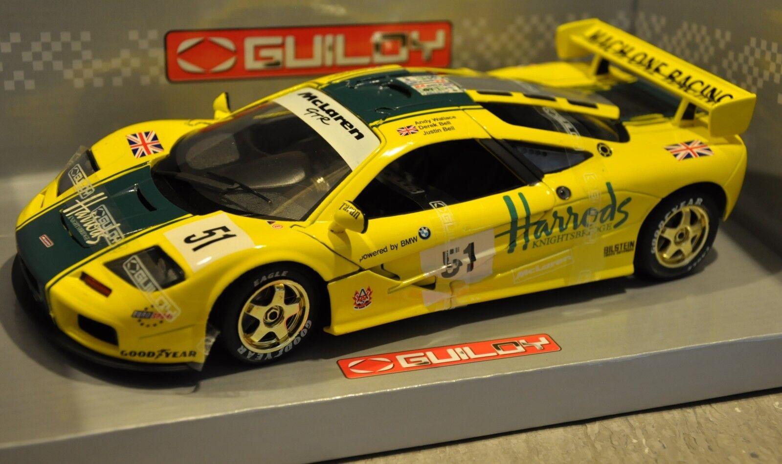 marcas de moda Guiloy 1 18 18 18 McLaren F1 GTR HARRODS  51 Le Mans 24 horas 1995  con 60% de descuento