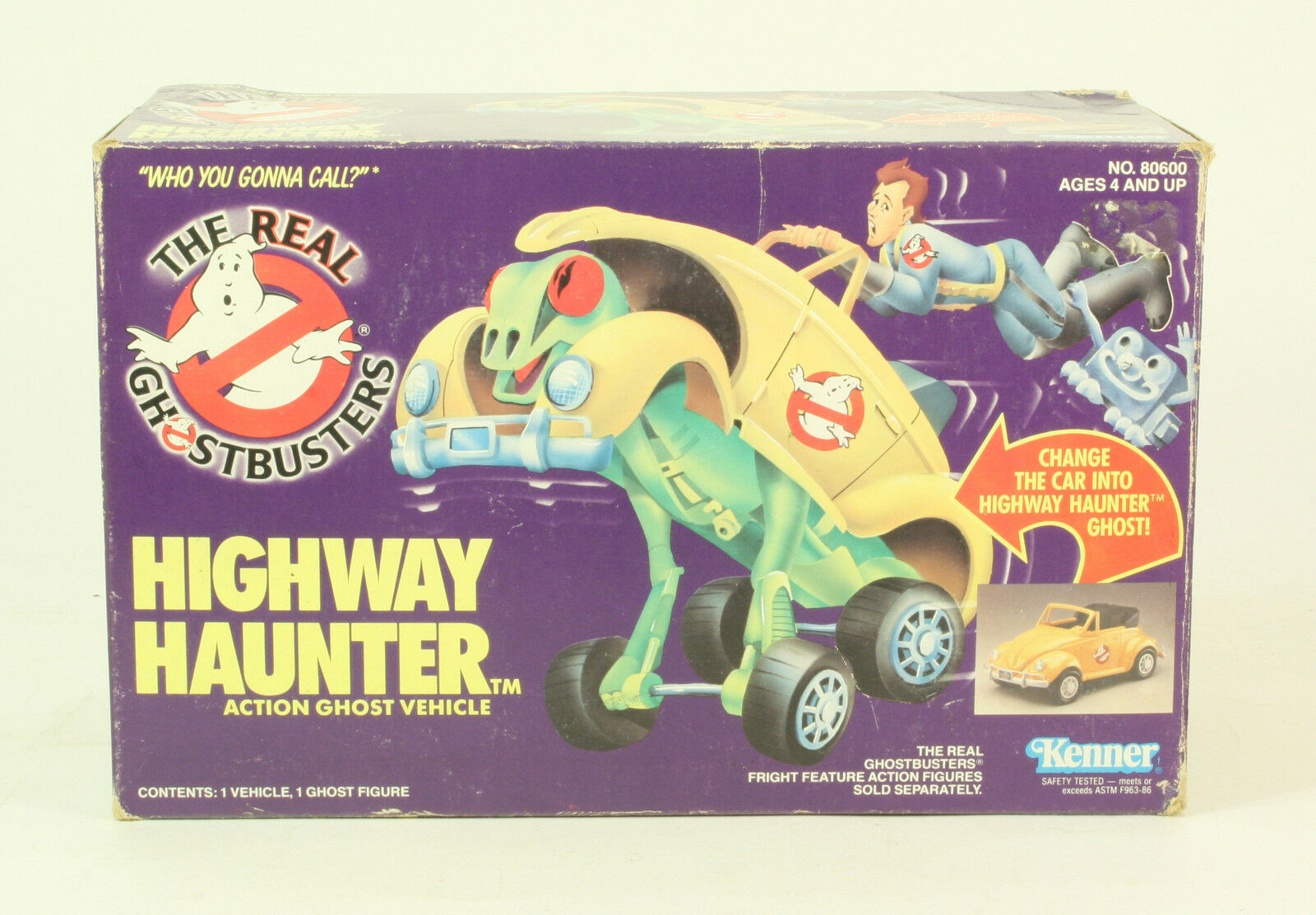 The real ghostbusters highway haunter 1984 kenner mit original - box