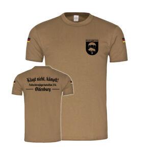 T-shirts Shirts & Hemden Bw Tropen Fschjgbtl 314 Oldenburg Fallschirmjägerbataillon Haud Animo #27217 Mit Dem Besten Service