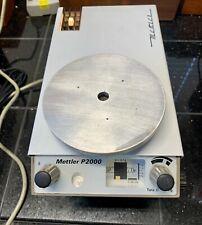 New Listingmettler P2000 Balancescale 2000g Max 555529