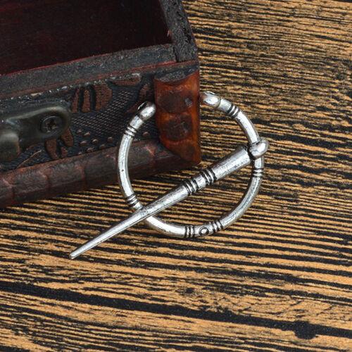 Ancient Norse Viking Brooch Pin Ethnic Shawl Coat Cloak Pins Badge Jewelry GutZP