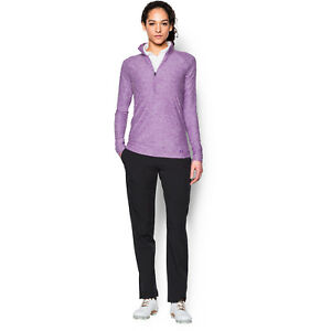 Honesty Under Armour Size Xs Womens Zinger Long Sleeve Magneta Gold Sports Top Factory Direct Selling Price Women's Clothing Activewear Tops