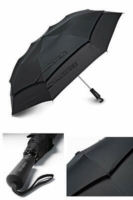 Samsonite Luggage Windguard Auto Open Umbrella Black