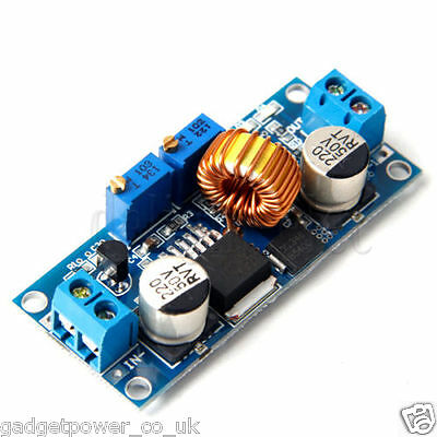 5A DC-DC BUCK CONVERTER STEP DOWN 4-38V TO 1.25-36V WITH CURRENT CONTROL XL4015