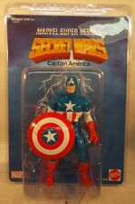 "Marvel Secret Wars Jumbo 12"" Captain America With Shield Gentle Giant Shield MIP"