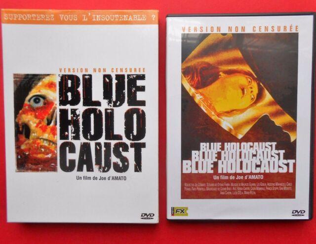rare horror movie dvd film blue holocaust buio omega joe d'amato cinzia monreale