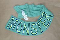 Crewcuts - - Kids Boys - Blue & Neon Monster Wool Blend Scarf 7x52