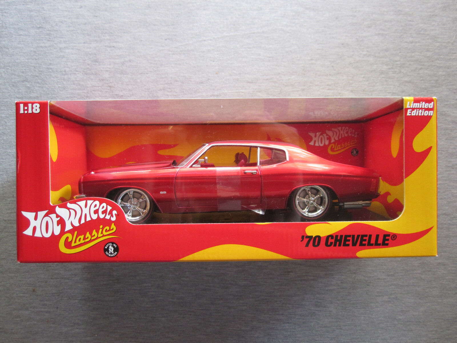 Hot wheels - klassiker 1,18 hwc limited edition  70 chevelle h8760 - neue