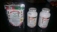 2 Nopalina Flax Seed Plus 120 Capsules + Bolsa De 4 Oz Gratis