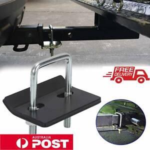 Anti-Rattle-Stabilizer-Hitch-Tightener-Lock-Down-Tow-Bar-Clamp-Trailer-Caravan