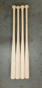 """10 34/"""" Wooden Softball Bats ASA Cupped Maple Blem"""