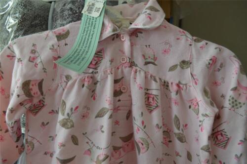 Pottery Barn Kids Sleepy Owl Flannel Nightgown PJ ~ 3T ~