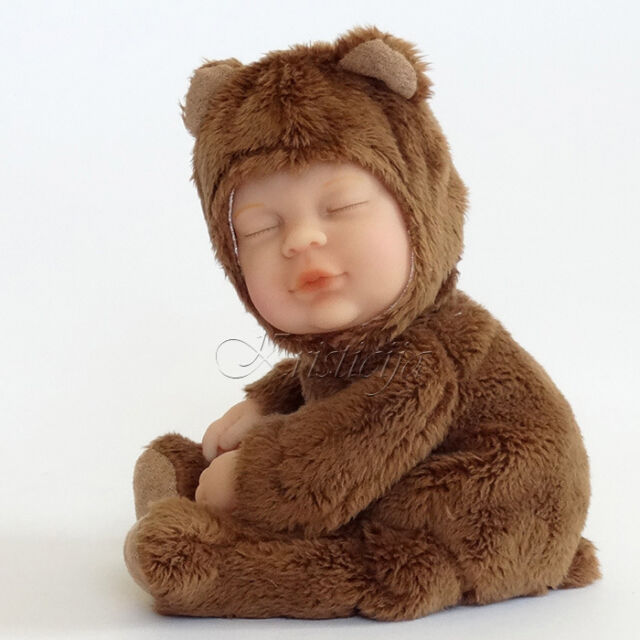 Anne Geddes Baby Brown Bear Pretty And Colorful Dolls & Bears