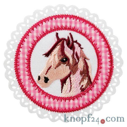 #70025 Applikation zum Aufbügeln Pferdepatch