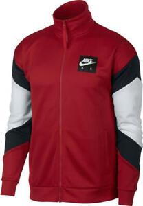 Details about Nike NSW AIR POLYKNIT Men's Jacket AJ5321 010 BlackWhiteGray sz 2XL