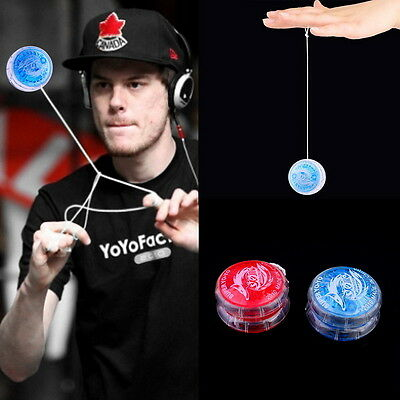 Flashing LED Glow Light Up YOYO Party Colorful Yo-Yo Toys For Kids Boy Gift  KK