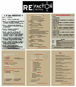 Image Is Loading RE Factor Tactical Combat Reference Stickers Medevac UXO