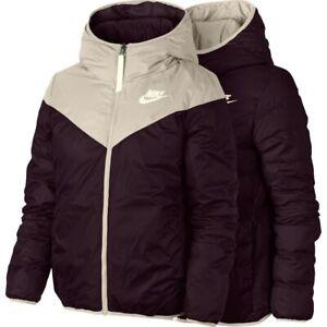 Détails sur Nike Sportswear Winterized Down Fill réutilisables Veste Femmes 939438 008 neuf taille XS afficher le titre d'origine