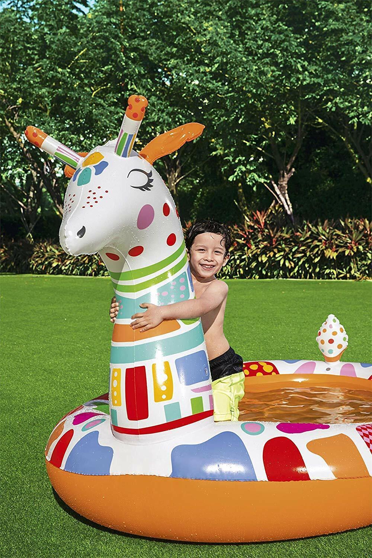 Bestway Groovy Giraffe Sprayer Children's Paddling Swimming Pool – BW53089