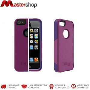 brand new 02999 69c8b Details about OtterBox Commuter Case for iPhone 5 / 5S / SE - Purple