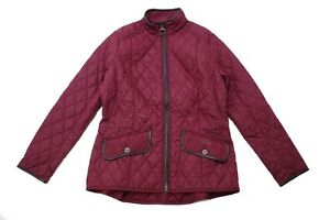Giacca-Trapuntata-BARBOUR-STALLION-In-Rosso