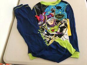 NWT Disney Store Toy Story Buzz Lightyear Costume PJ Pals Sleep Set Pajamas Boys