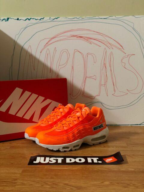 Nike Air Max 95 SE Just Do It Pack Av6246 800 Orange White Mens Size 10.5