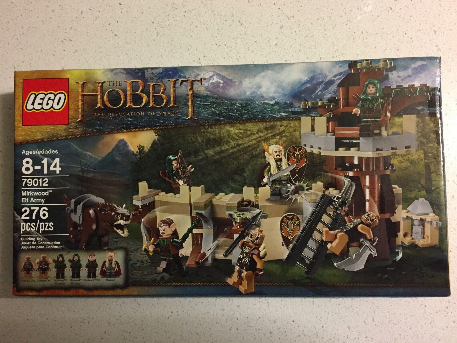 LEGO King Thranduil Mirkwood Elves 79012 Lord of the Rings Hobbit Elf Army NEW