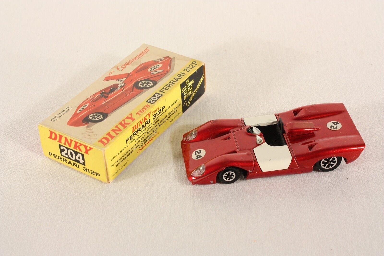Dinky Toys 204, Ferrari 312 P, Mint in Box                    ab668