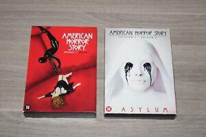 DVD Box American Horror Story Season 1 + 2 - AHS