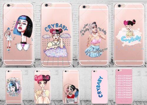 Coque Melanie Martinez Cry Baby Soft Case All Apple Iphone 5 6 6s 7 8 X