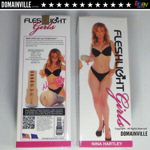 Nina-Hartley-Fleshlight-Realistic-Vagina-Male-Masturbator-Sex-Toy-Get-Free-Lube