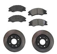 Front Brake Pad Kit Aftermarket Ceramic For Kia Spectra 04-08 L4 2.0l Dohc on sale