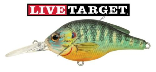 Live Target Crankbait Pumpkinseed Sunfish Any Size Matte Gloss Koppers Lure