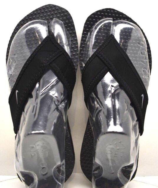 5a668d601e3b Boys Nike Celso Thongs Summer Sandals Flip Flops Size 13 Black for ...