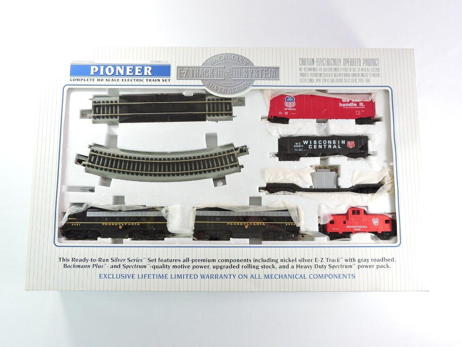 Bachuomon argento SERIE COMPLETA Pioneer pennsylvania HO Treno Set 01111 EZ Up